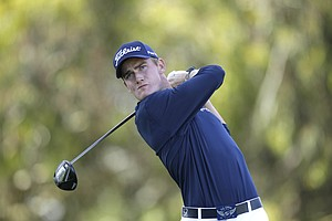 John Peterson during the first round of the U.S. Open Championship golf tournament Thursday, June 14, 2012, at The Olympic Club in San Francisco. Peterson's fourth place finish gave him an exemption into Q-School's second stage.
