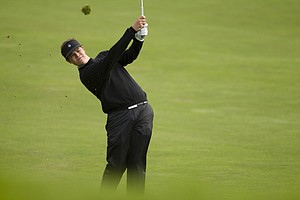 Beau Hossler plays his second shot on the second hole during the first round at the 2012 U.S. Open at The Olympic Club in San Francisco, Calif. on Thursday, June 14, 2012.