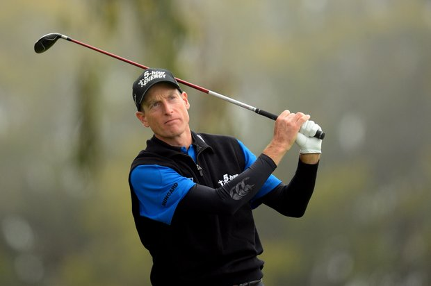 Jim Furyk during the final round of the 112th U.S. Open at The Olympic Club.