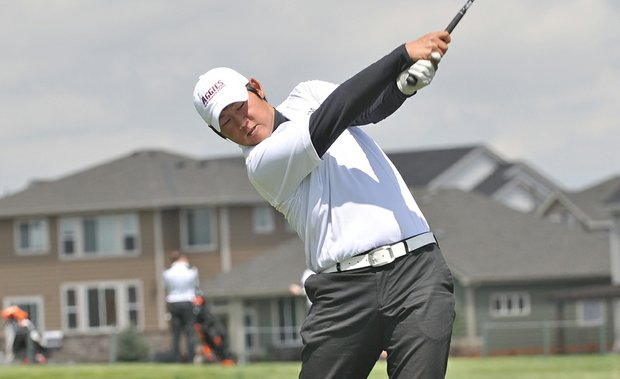 Justin Shin's victory at the Northeast Amateur is the biggest of his career.