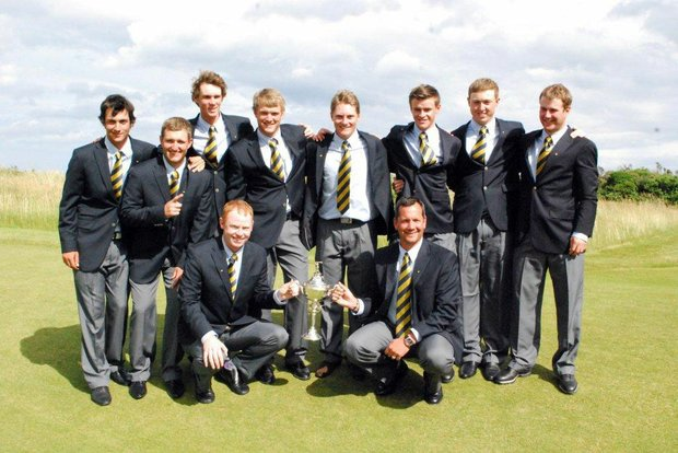 Team Europe, winner of the 2012 Palmer Cup.
