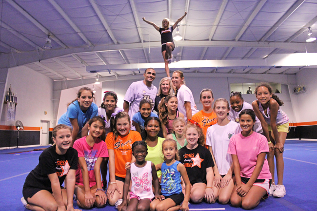 Winter park cheer gym expands size and programs for Gimnasio jump lugo