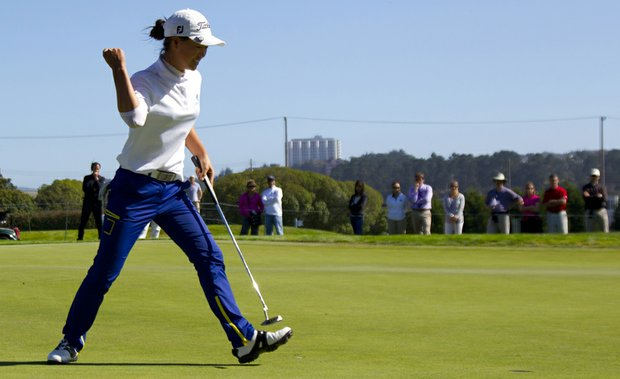 Minjee Lee defeated Alison Lee in the final of the U.S. Girls' Junior on Saturday at Lake Merced in Daly City, Calif.