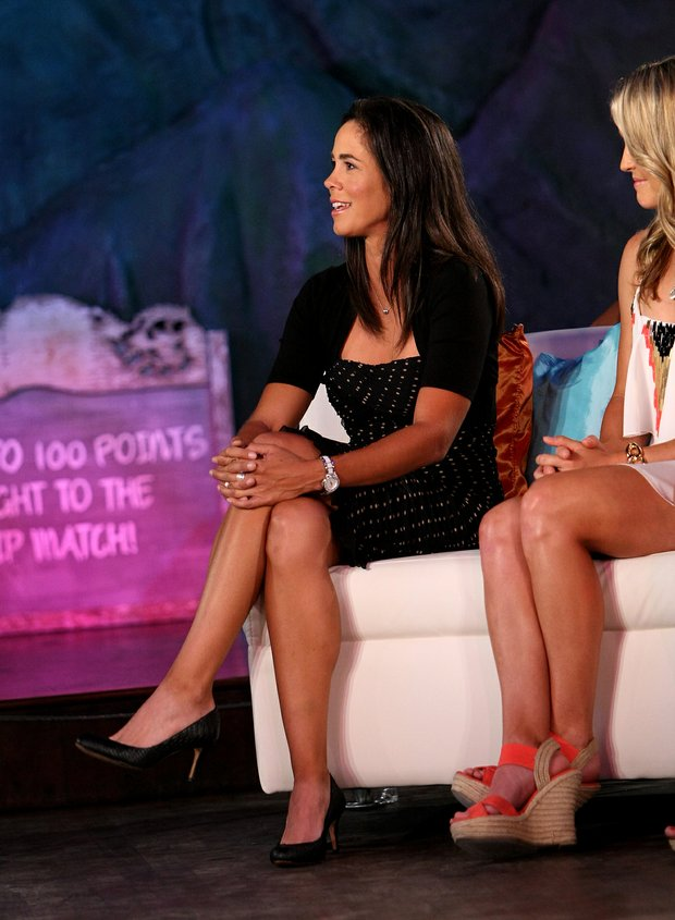 Big Break Atlantis winner, Marcela Leon was the most experienced competitor from this season's show. The players gathered on Tuesday during the filming of the Big Break Reunion show at the Latin Quarter of Universal's City Walk.
