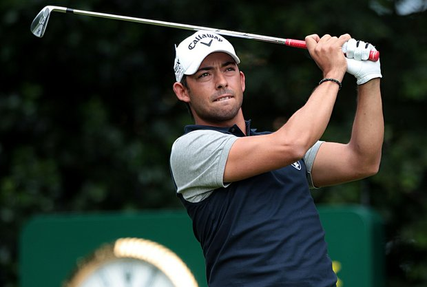 Pablo Larrazabal during the Open Championship.