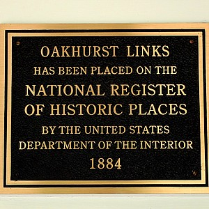 Oakhurst Links in on the National Register of Historic Places.