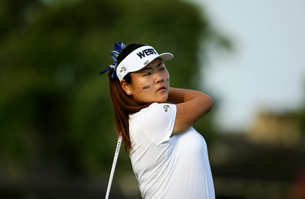 Amy Lee during the 2012 Wyndham Cup at Bay Hill Club and Lodge in Orlando, Fla.