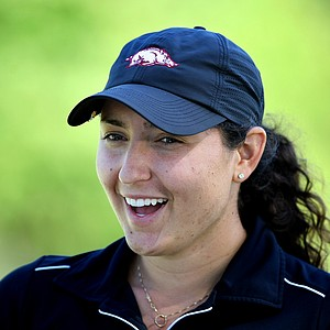 Emily Tubert of Burbank, California during the 2012 U. S. Women's Amateur Championship at The Country Club.