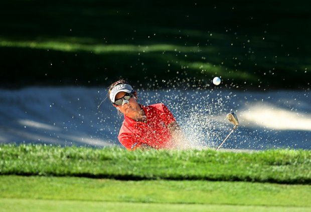 Lisa McCloskey of Houston, Texas during the 2012 U. S. Women's Amateur Championship at The Country Club.