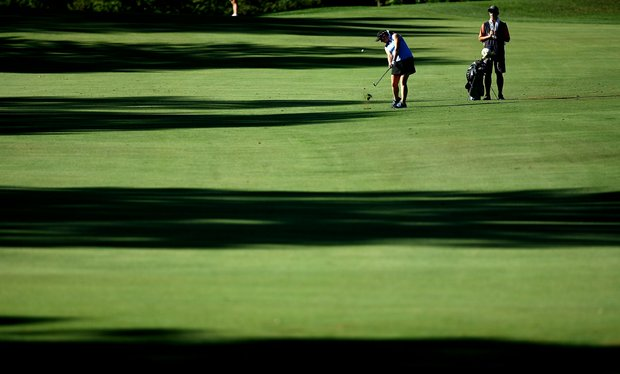 Casey Grice of College Station, TX, during Round 1 of the 2012 U. S. Women's Amateur Championship at The Country Club in Cleveland, Ohio.