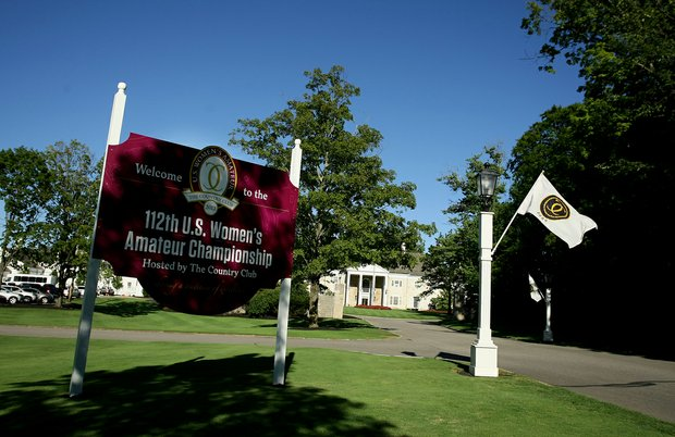 The 2012 U. S. Women's Amateur Championship at The Country Club in Cleveland, Ohio.