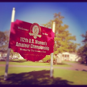 The 2012 U. S. Women's Amateur Championship at The Country Club.
