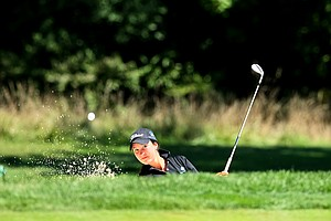 Breanna Elliott of Australia during the second round of stroke play at the 2012 U. S. Women's Amateur Championship.