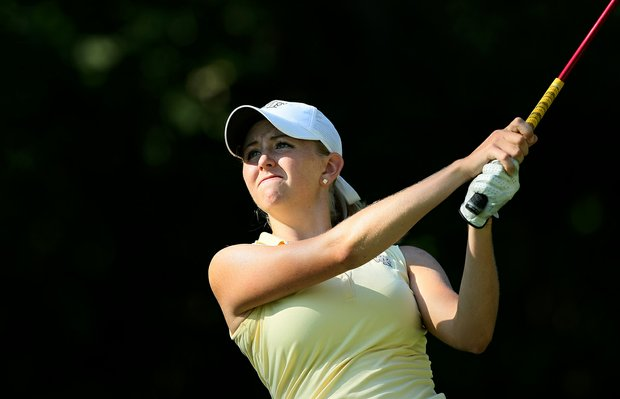Marissa Dodd of Allen, Texas during the second round of stroke play at the 2012 U. S. Women's Amateur Championship at The Country Club in Cleveland.