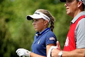 Sierra Brooks of Sorrento, Fla., during the Round of 64 at the 112th U. S. Women's Amateur Championship.