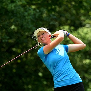Jessica Vasilic defeated Yueer Cindy Feng during the Round of 64 at the 112th U. S. Women's Amateur Championship.