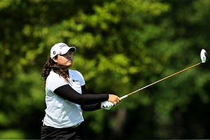 Ariya Jutanugarn won her match 3&1 during the Round of 64 at the 112th U. S. Women's Amateur Championship. Her sister Moriya failed to advance.