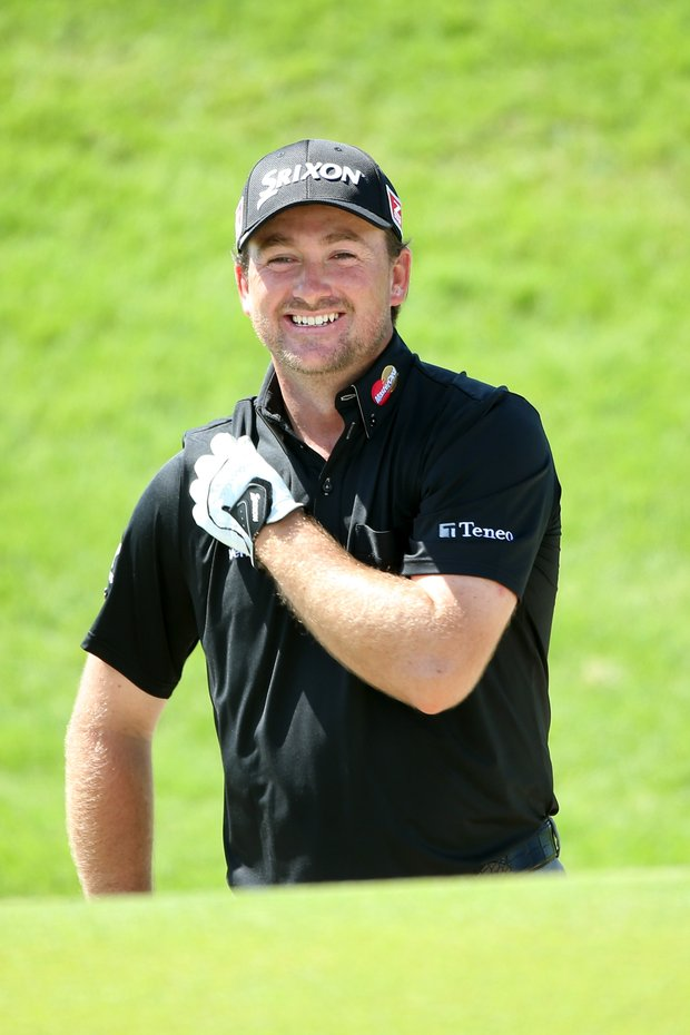 Graeme McDowell will play with Scott Piercy and Matt Kuchar at 1:50 p.m. off the first tee at the PGA Championship on Thursday.