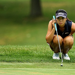 Erynne Lee during the Round of 16 at the 112th U. S. Women's Amateur Championship.