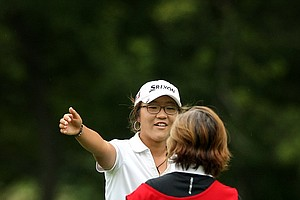 Lydia Ko defeated Celine Boutier during the Round of 16 at the 112th U. S. Women's Amateur Championship.