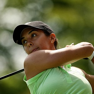 Paula Reto of South Africa during the quarterfinals at the 112th U. S. Women's Amateur Championship.