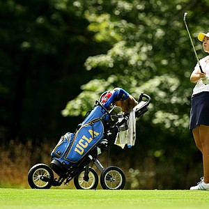Erynne Lee during the quarterfinals at the 112th U. S. Women's Amateur Championship. Lee lost to Ariya Jutanugarn 5&4.