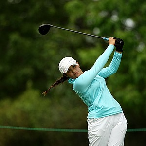 Marijosse Navarro at No. 8 during the quarterfinals at the 112th U. S. Women's Amateur Championship.
