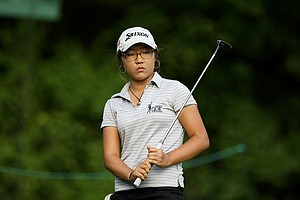 Lydia Ko, 15, during the quarterfinals at the 112th U. S. Women's Amateur Championship.