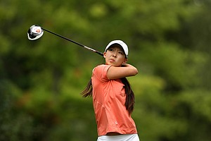 Nicole Zhang lost to Jaye Marie Green during the semifinals at the 112th U. S. Women's Amateur Championship.