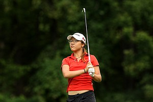 Lydia Ko during the finals at the 112th U. S. Women's Amateur Championship at The Country Club in Cleveland.