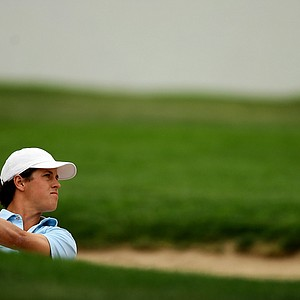 Cody Gribble of Dallas, TX, during the 112th U. S. Amateur Championship at Cherry Hills Country Club in Colorado.