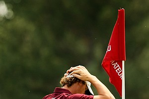 Thomas Pieters lost to Albin Choi 4&3 during the Round of 32 at the 112th U. S. Amateur Championship at Cherry Hills Country Club in Colorado.