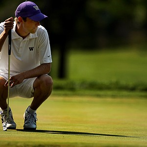 Chris Williams during the quarterfinals of the 112th U. S. Amateur Championship at Cherry Hills Country Club in Colorado. Williams lost to Steven Fox 4&2.