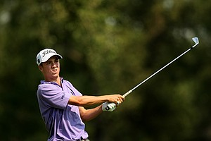 Justin Thomas will face Michael Weaver during the semifinals of the 112th U. S. Amateur Championship at Cherry Hills Country Club in Colorado.