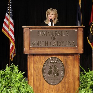 South Carolina financier Darla Moore