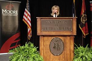 South Carolina financier Darla Moore