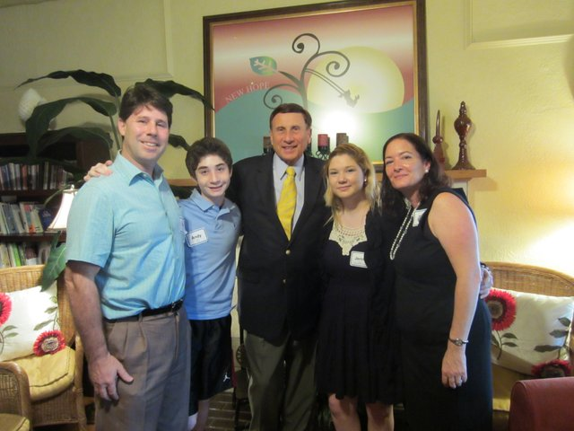Congressman John Mica and Maitland Vice Mayor Phil Bonus toured the Center for Grieving Children.