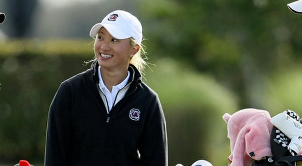 Suzie Lee is one of three returners from the South Carolina team that finished 20th at last year's NCAA Championship.