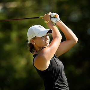 Emily Talley during LPGA Qualifying School.