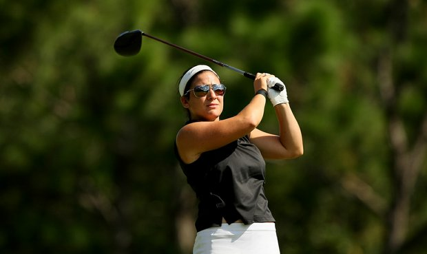 Rachel Rohanna during the final round of Stage 1 of LPGA Qualifying School.