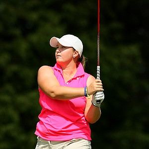 Catherine O'Donnell during the final round of Stage 1 of LPGA Qualifying School.