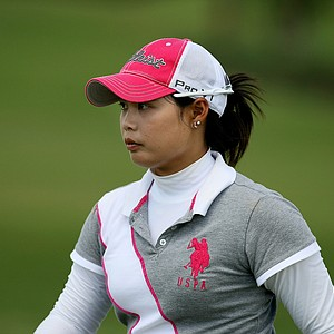 Moriya Jutanugarn at Stage 1 of LPGA Qualifying School.