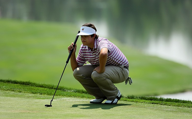 Beau Hossler qualified for the U.S. Open through local and sectional qualifying sites in 2012.