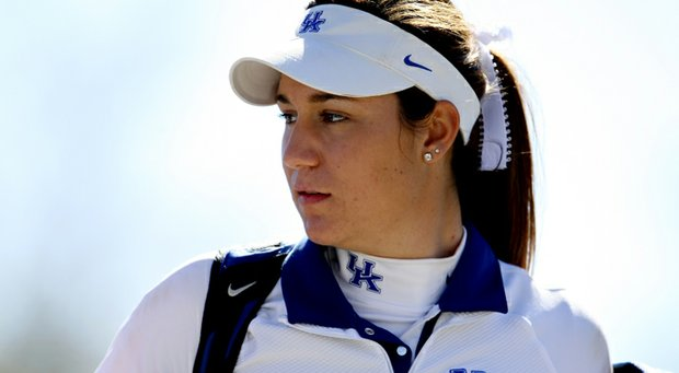 Kentucky's Ashleigh Albrecht helped lead the Wildcats to the Old Waverly Intercollegiate title.