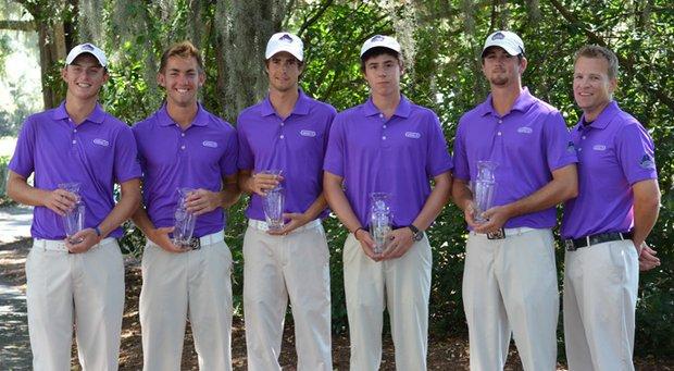 Central Arkansas won the men's team title at the Golfweek Program Challenge.