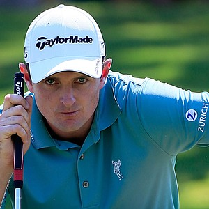 Justin Rose during the third round of the Tour Championship.