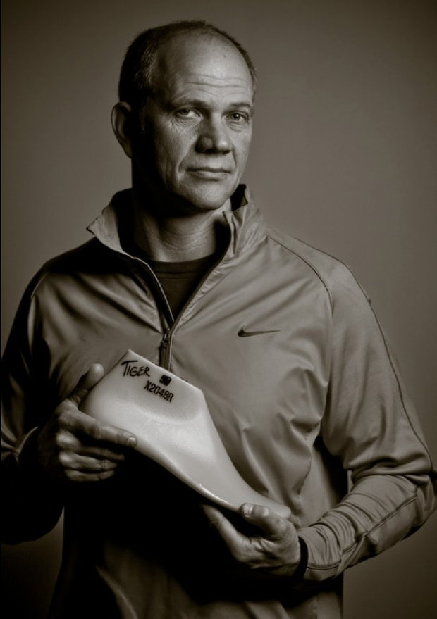 Tobie Hatfield is the mastermind behind the Nike TW '13 shoe.
