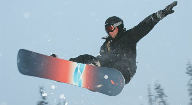 High-flying U.S. Ryder Cup captain Davis Love III concedes he takes more risks on his snowboard than he does on the golf course.