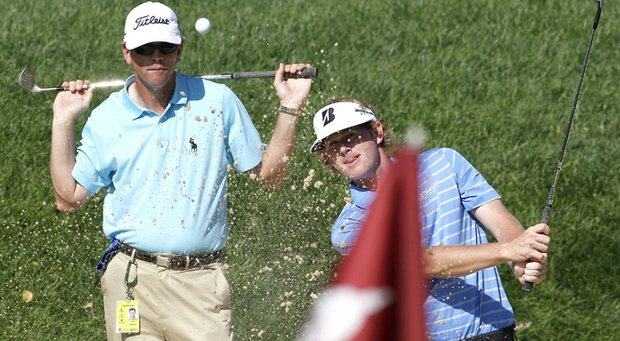 Todd Anderson and Brandt Snedeker
