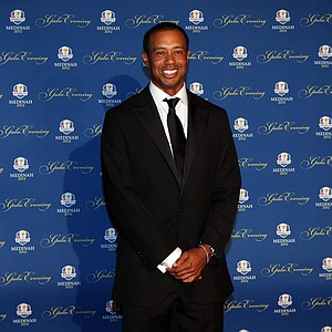 Tiger Woods of the USA attends the 39th Ryder Cup Gala at Akoo Theatre at Rosemont on September 26, 2012 in Rosemont, Illinois.